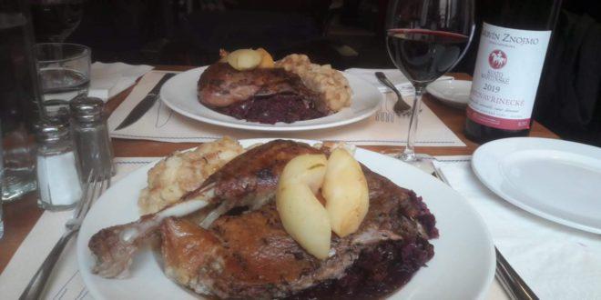 Dobrá svatomartinská husa v restauraci U Bulínů