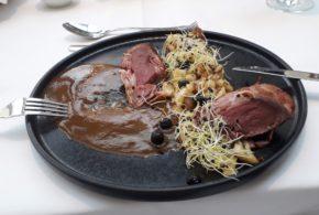 Dobré jídlo a víno v Le Grill