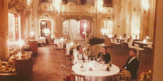 Degustační menu v sále Boccaccio