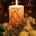 Na vánoční stůl patří červené a bílé víno