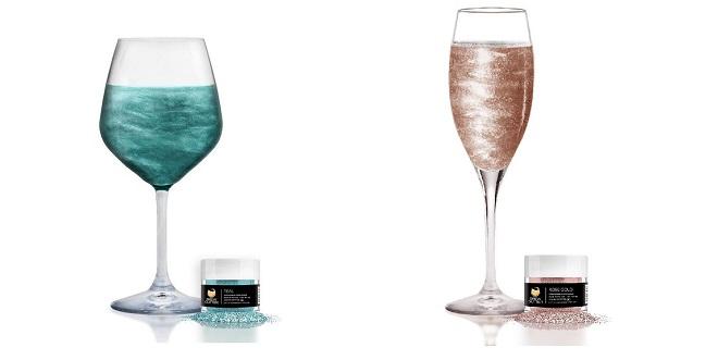 Připravte zábavnou párty díky jedlým třpytkám do nápojů