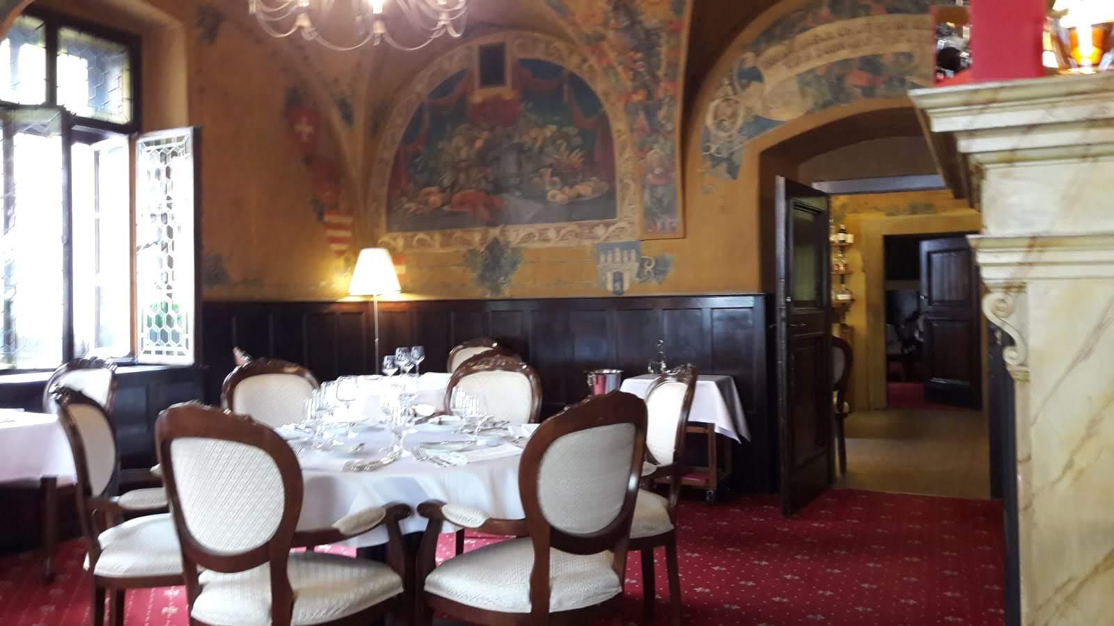 Výjimečný interiérový design restaurace U Malířů
