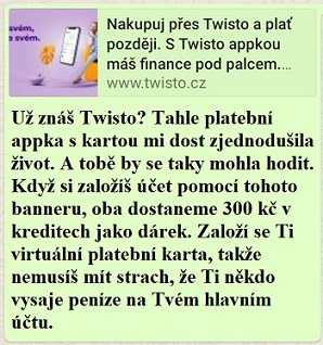 S Twisto appkou máš finance pod palcem